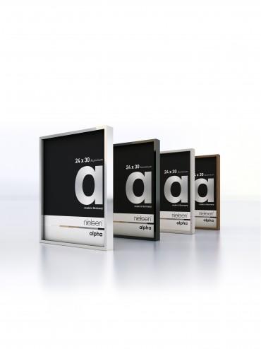 Nielsen alpha - Premium Bilderrahmen aus Aluminium