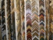 Werkstatt-Ansicht mit einer Auswahl von Musterwinkeln